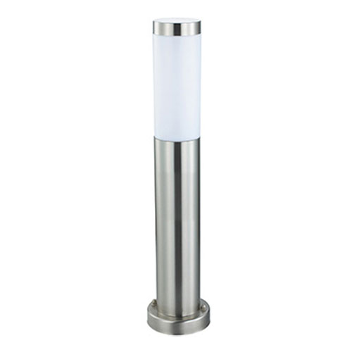 LED Tuinverlichting - Buitenlamp - Laurea 4 - Staand - RVS - E27 - Rond