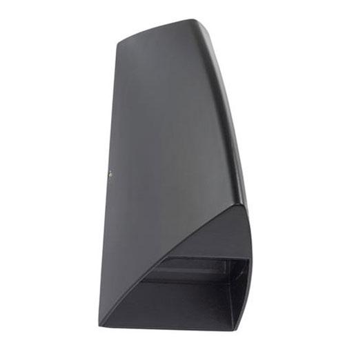 Tuinverlichting - Buitenverlichting - Buitenlamp - Wandlamp Ovaal Mat Zwart 3.5W 4100K Natuurlijk Wi
