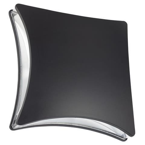 Tuinverlichting / Buitenverlichting / Buitenlamp / Wandlamp Vierkant Mat Zwart 5.5W 4100K Natuurlijk Wit 20.5x20.5cm Modern Aluminium / Kunststof IP44 Quatro