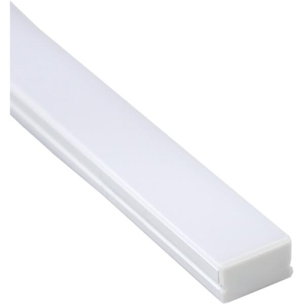 Aluminium Profiel 15 Pack - Sanola Alu - Trapverlichtingstrip - 15 Treden - 80cm - Mat Wit
