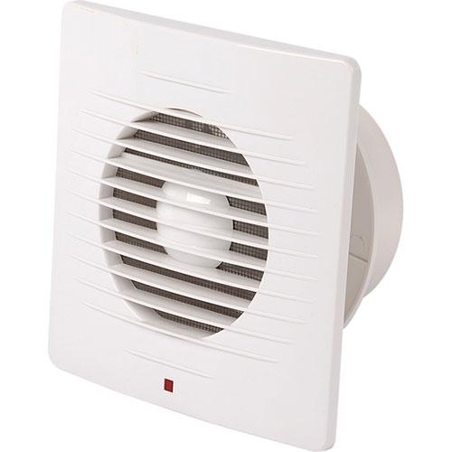 Badkamer - Toilet - Ventilator - 158mm - 12W - 100m3