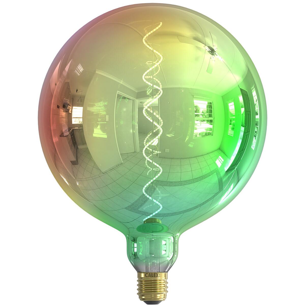 Filament Kalmar LED Globe color special metallic