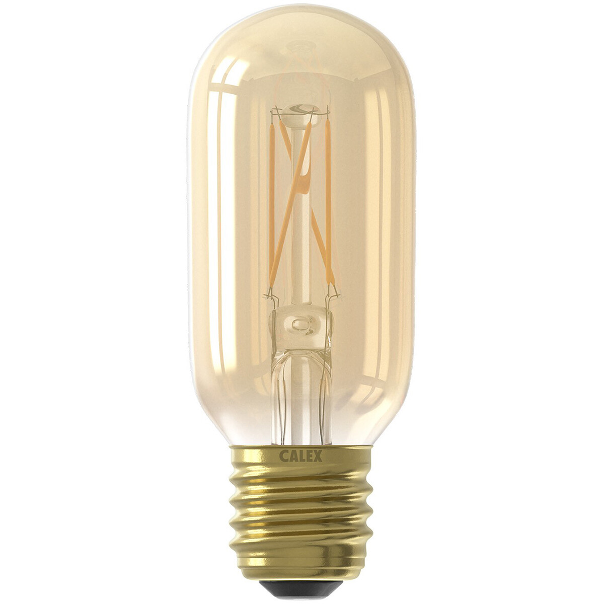 CALEX - LED Lamp - LED Buislamp - Filament T45 - E27 Fitting - Dimbaar - 4W - Warm Wit 2100K - Amber