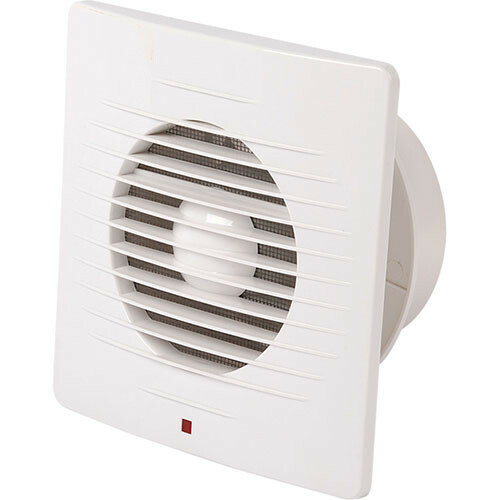 Badkamer - Toilet - Ventilator - 205mm - 20W - 150m3