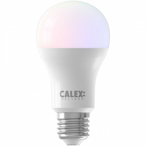 CALEX - LED Lamp - Smart A60 - E27 Fitting - Dimbaar - 8.5W - Aanpasbare Kleur CCT - Mat Wit