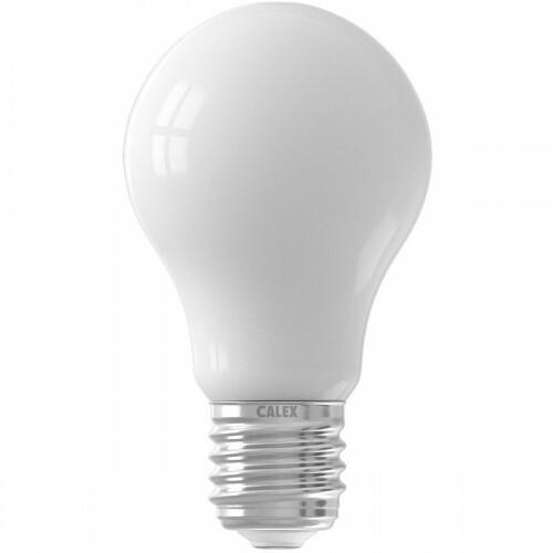 CALEX - LED Lamp - Smart LED A60 - E27 Fitting - Dimbaar - 7W - Aanpasbare Kleur CCT - Mat Wit