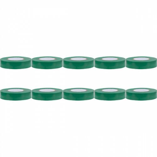 Isolatietape 10 Pack - Yurga - Groen - 20mmx20m