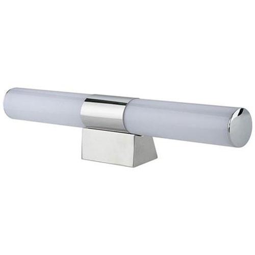 LED Spiegelverlichting - Rond 9W - Natuurlijk Wit 4200K - Glans Chroom Kunststof