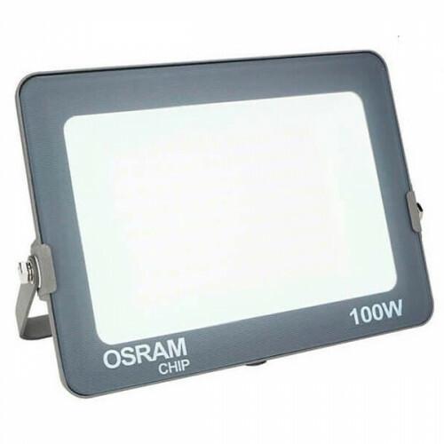 OSRAM - LED Bouwlamp 100 Watt - LED Schijnwerper - Helder/Koud Wit 6000K - Waterdicht IP65