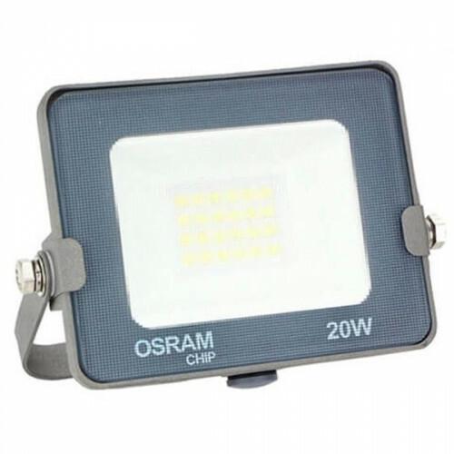 OSRAM - LED Bouwlamp 20 Watt - LED Schijnwerper - Helder/Koud Wit 6000K - Waterdicht IP65