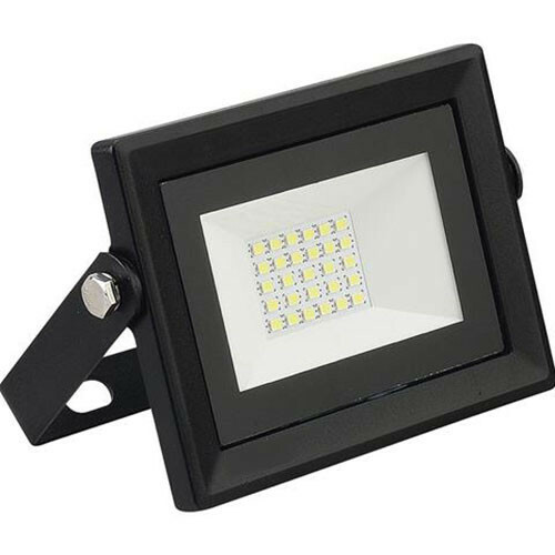 LED Bouwlamp 20 Watt - LED Schijnwerper - Pardus - Helder/Koud Wit 6400K - Waterdicht IP65