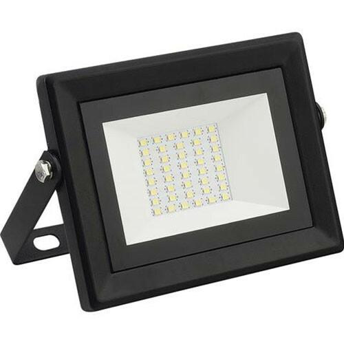 LED Bouwlamp 30 Watt - LED Schijnwerper - Pardus - Helder/Koud Wit 6400K - Waterdicht IP65