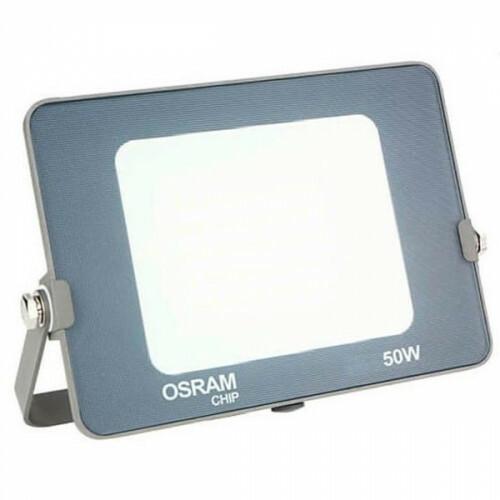 OSRAM - LED Bouwlamp 50 Watt - LED Schijnwerper - Helder/Koud Wit 6000K - Waterdicht IP65