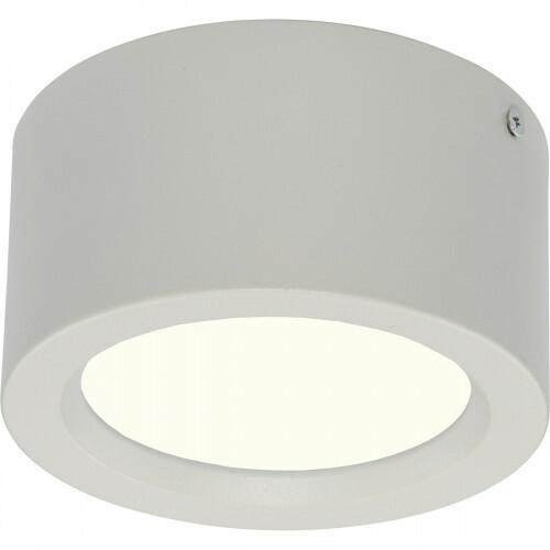 LED Downlight - Opbouw Rond Hoog 10W - Natuurlijk Wit 4200K - Mat Wit Aluminium - Ø140mm