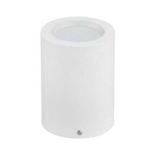 LED Downlight - Opbouw Rond Hoog XL 5W - Natuurlijk Wit 4200K - Mat Wit Aluminium - Ø95mm