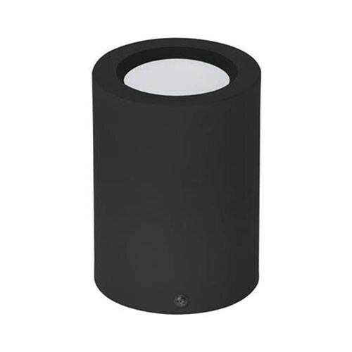 LED Downlight - Opbouw Rond Hoog XL 5W - Natuurlijk Wit 4200K - Mat Zwart Aluminium - Ø95mm