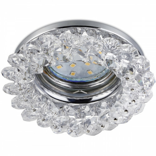 Spot Armatuur GU10  - Trion Dilomy - Inbouw Rond - Glans Chroom - Aluminium - Ø90mm