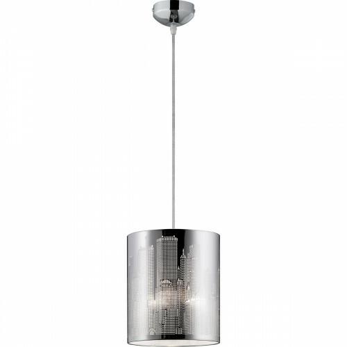 LED Hanglamp - Hangverlichting - Trion Cotin - E27 Fitting - Rond - Mat Wit - Aluminium