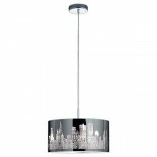 LED Hanglamp - Trion Kimo - E14 Fitting - Rond - Glans Chroom - Aluminium