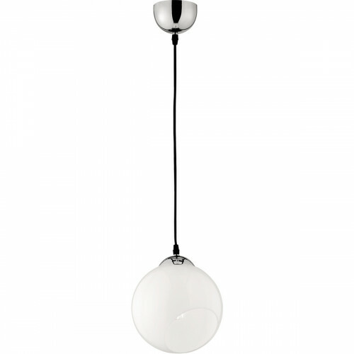 LED Hanglamp - Trion Klino - E27 Fitting - 1-lichts - Rond - Mat Chroom - Aluminium