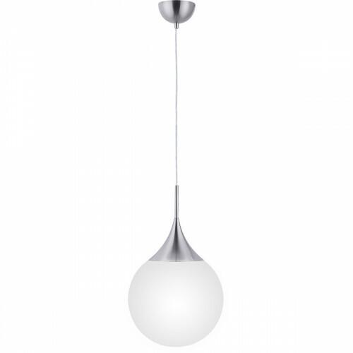 LED Hanglamp WiZ - Smart LED - Trion Dani - 11W - E27 Fitting - Aanpasbare Kleur - Dimbaar - Rond - Mat Nikkel - Aluminium