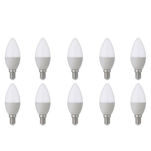 LED Lamp 10 Pack - E14 Fitting - 4W - Helder/Koud Wit 6400K