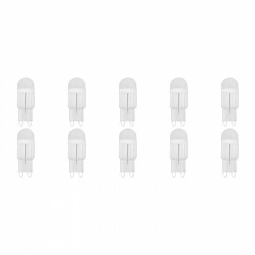 LED Lamp 10 Pack - Nani - G9 Fitting - Dimbaar - 3W - Helder/Koud Wit 6400K