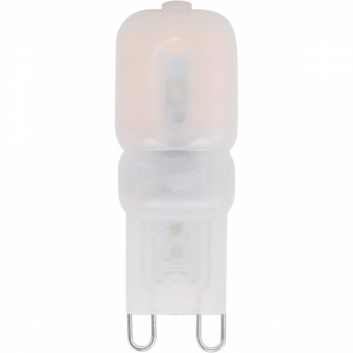 LED Lamp - Aigi - G9 Fitting - 2.5W - Helder/Koud Wit 6500K   Vervangt 25W