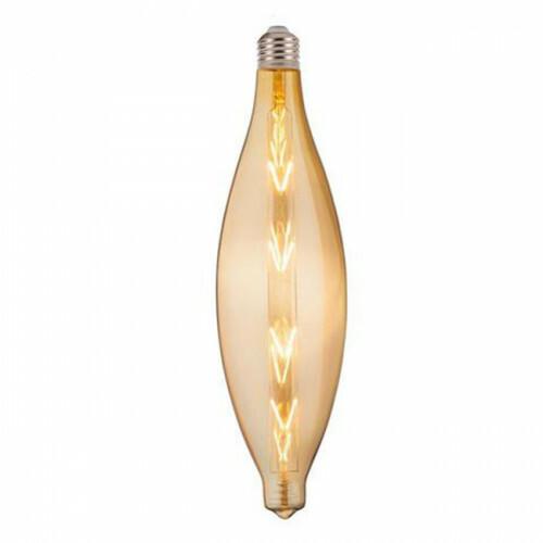 LED Lamp - Design - Elipo - E27 Fitting - Amber - 8W - Warm Wit 2200K