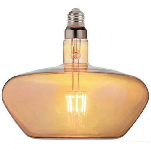LED Lamp - Design - Gonza - E27 Fitting - Amber - 8W - Warm Wit 2200K