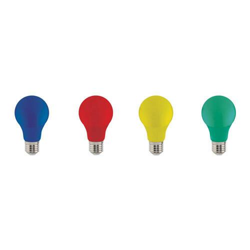 LED Lamp Party Set - Specta - Gekleurd - E27 Fitting - 3W