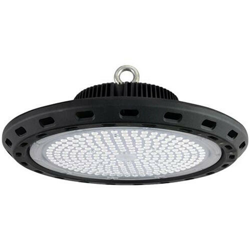 LED UFO High Bay 100W - Magazijnverlichting - Waterdicht IP65 - Helder/Koud Wit 6400K - Aluminium