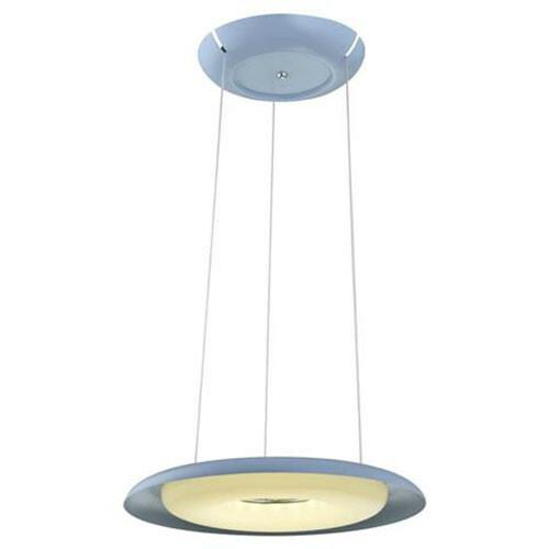 LED Plafondlamp - Plafondverlichting - Elegant - 35W - Natuurlijk Wit 4000K - Blauw Aluminium
