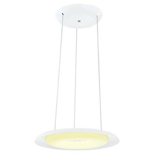 LED Plafondlamp - Plafondverlichting - Elegant - 35W - Natuurlijk Wit 4000K - Wit Aluminium