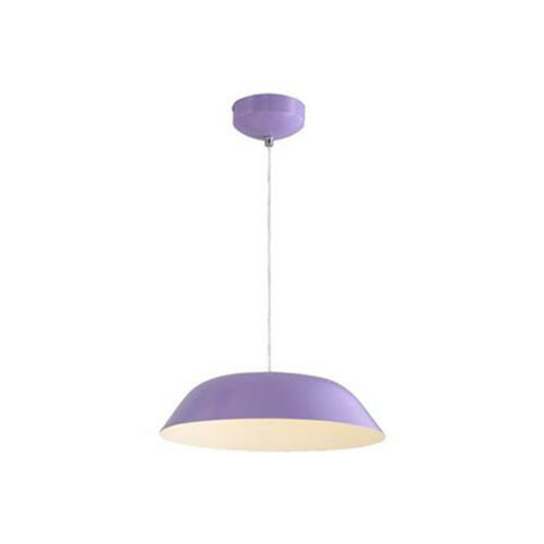 LED Plafondlamp - Plafondverlichting - Primo - 6W - Natuurlijk Wit 4000K - Paars Aluminium
