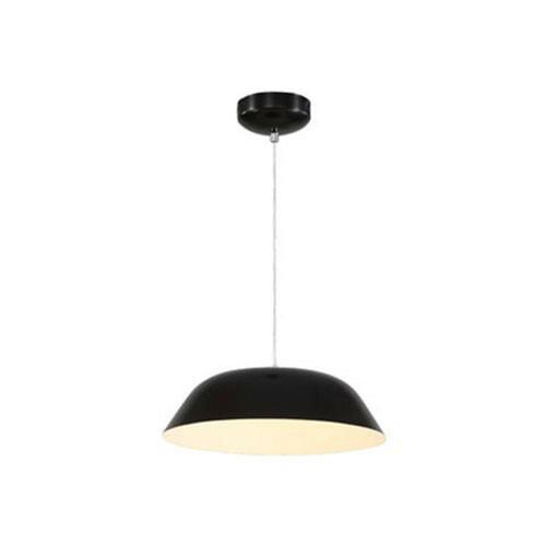 LED Plafondlamp - Plafondverlichting - Primo - 6W - Natuurlijk Wit 4000K - Zwart Aluminium