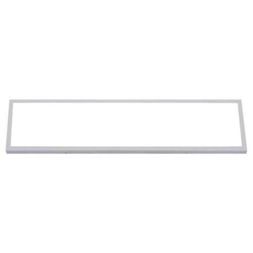 LED Paneel - 30x120 Helder/Koud Wit 6400K - 36W Opbouw Rechthoek - Mat Wit - Flikkervrij