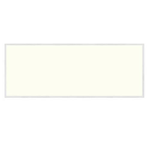 LED Paneel - 30x120 Natuurlijk Wit 4200K - 36W Inbouw Rechthoek - Mat Wit Aluminium