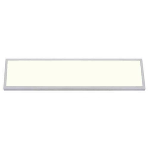 LED Paneel - 30x120 Natuurlijk Wit 4200K - 36W Opbouw Rechthoek - Mat Wit Aluminium
