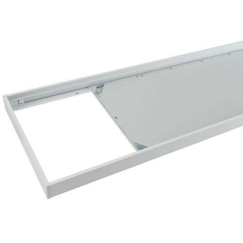 LED Paneel 30x120 - Opbouw Frame - Aluminium - Wit