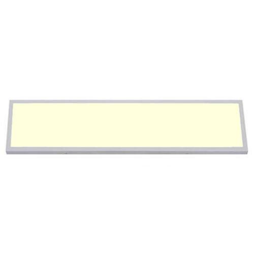 LED Paneel - 30x120 Warm Wit 3000K - 36W Opbouw Rechthoek - Mat Wit - Flikkervrij