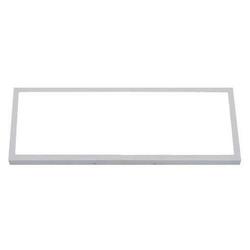 LED Paneel - 30x60 Helder/Koud Wit 6400K - 24W Opbouw Rechthoek - Mat Wit - Flikkervrij