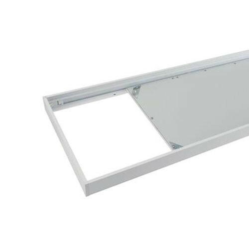 LED Paneel 30x60 - Opbouw Frame - Aluminium - Wit