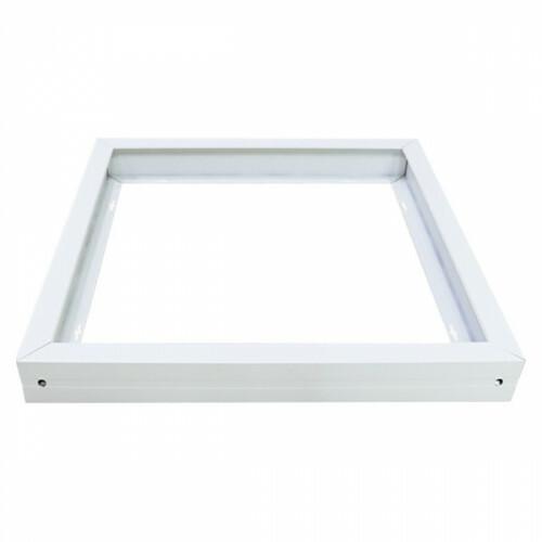 LED Paneel 60x60 - Aigi - Opbouw Frame - Aluminium - Wit