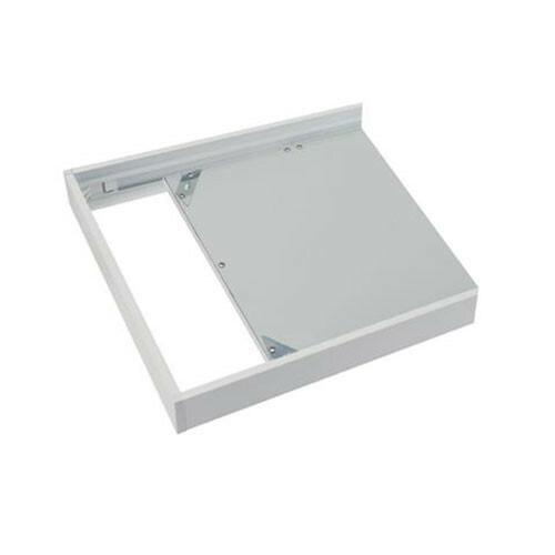 LED Paneel 60x60 - Opbouw Frame - Aluminium - Wit