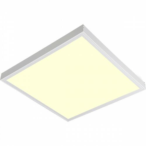 LED Paneel - 60x60 Warm Wit 3000K - 45W Opbouw Vierkant - Mat Wit - Flikkervrij