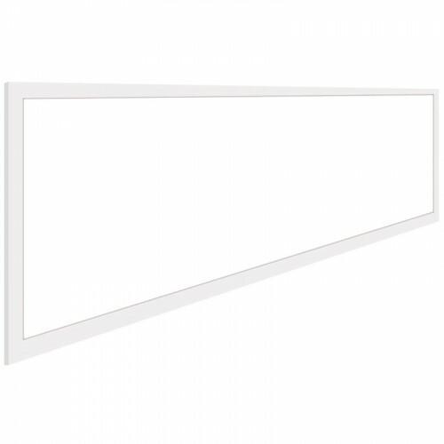 LED Paneel - Aigi - 30x120 Helder/Koud Wit 6000K - 32W High Lumen - Inbouw Rechthoek - Mat Wit - Flikkervrij