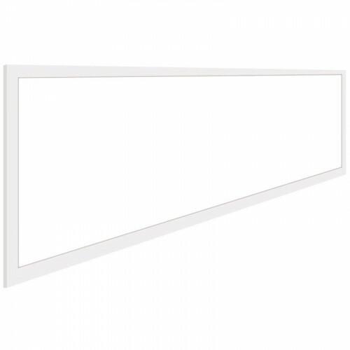 LED Paneel - Aigi - 30x120 Helder/Koud Wit 6000K - 40W Inbouw Rechthoek - Inclusief Stekker - Mat Wit - Flikkervrij