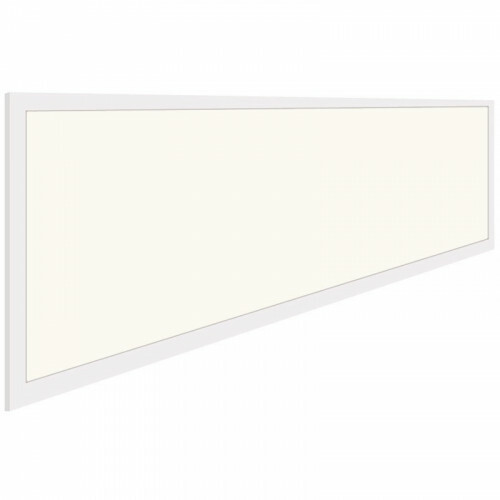 LED Paneel - Aigi - 30x120 Natuurlijk Wit 4000K - 40W Inbouw Rechthoek - Mat Wit - Flikkervrij
