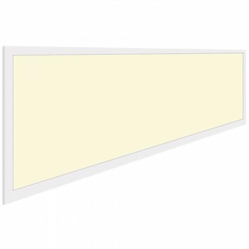 LED Paneel - Aigi - 30x120 Warm Wit 3000K - 32W High Lumen - Inbouw Rechthoek - Inclusief Stekker - Mat Wit - Flikkervrij